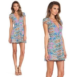 Lovers & Friends Cassidy Dress in Mosaic Small